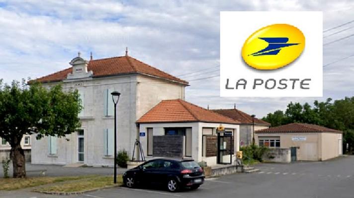 Photo de l'agence postale communale de saint-Sever de Saintonge