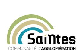 Logo de la communauté d'agglomération de Saintes