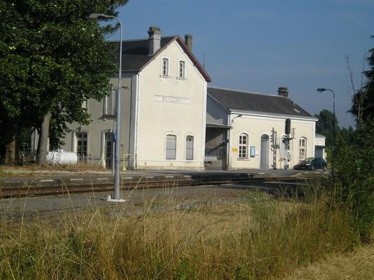 Gare de beillant à Saint-Sever de Saintonge