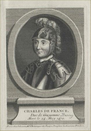 Duc de Guyenne 1471