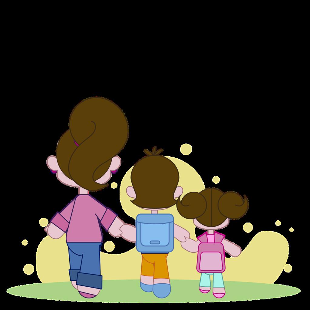 Family School Children Girl Boy  - andremsantana / Pixabay