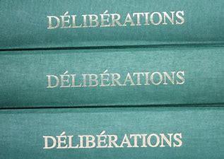 Les délibérations