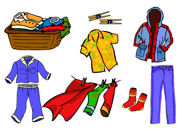 Clothes Clothing Pajamas Shirt  - ArtsyBeeKids / Pixabay