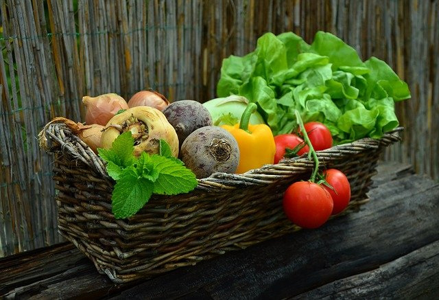 Vegetables Basket Vegetable Basket  - congerdesign / Pixabay