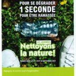 Affiche A5 Nettoyons la Nature 2021 Saint-Sever-de-Saintonge-17800